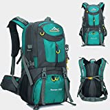 Sacs à dos de randonnée, 50L Sport Outdoor Sac à dos de voyage de sac à dos, idéal pour École, Trekking, Randonnée,...