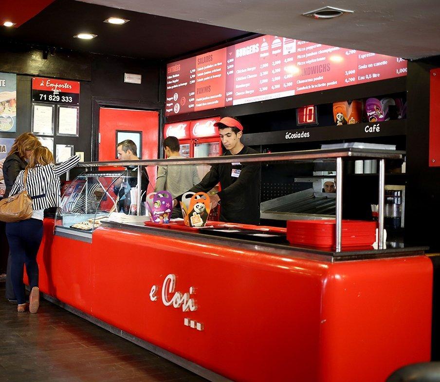 fast food ecosi tunisie