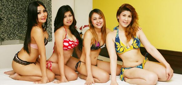 Escort ladies thai body to body massage in bangkok