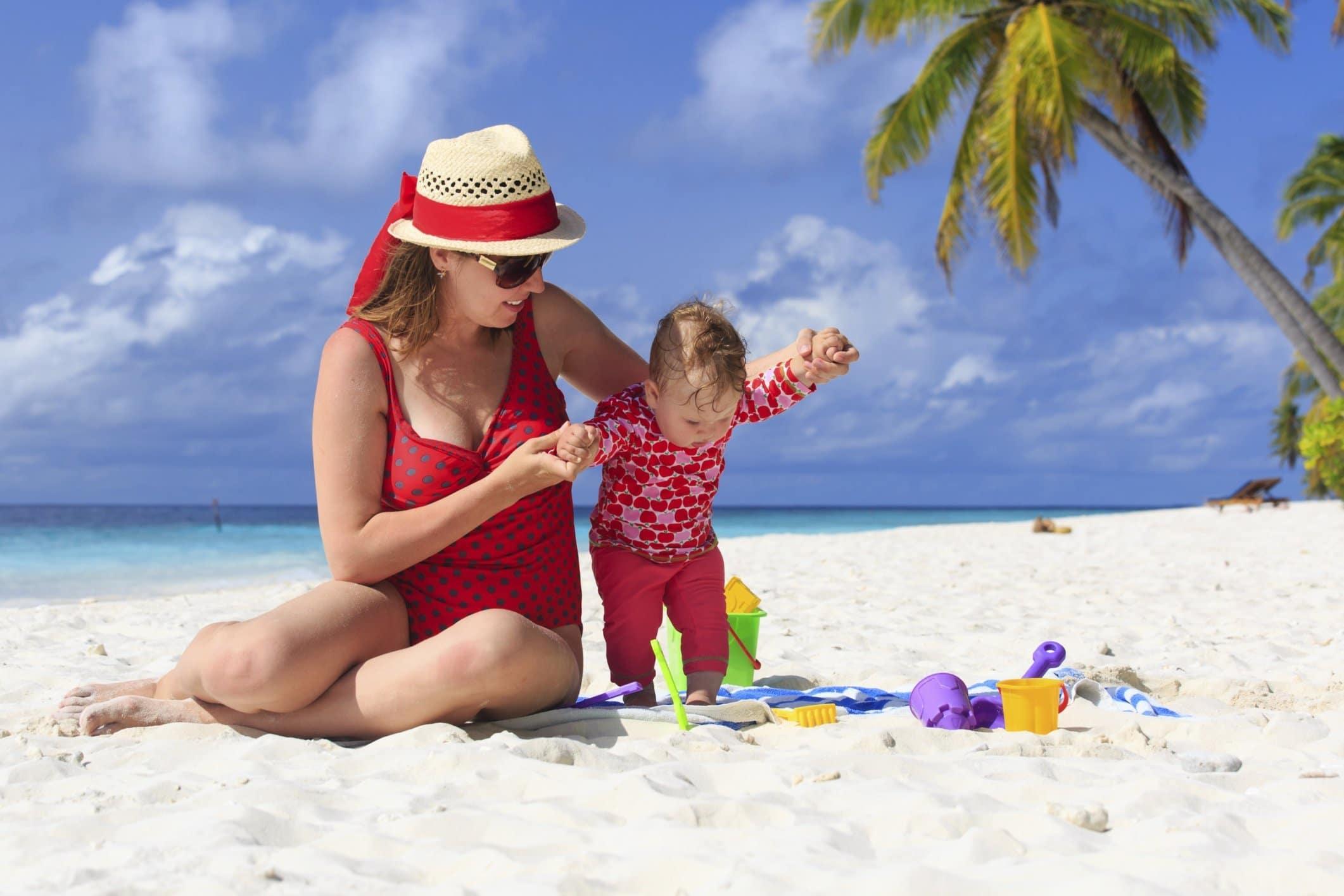 voyage tropical avec bebe