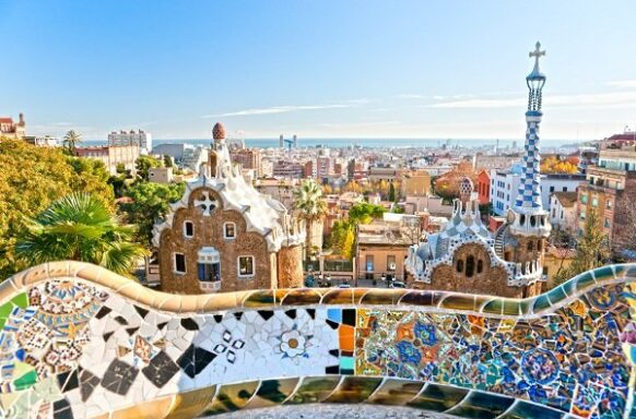 Barcelone Visiter le parc Guell