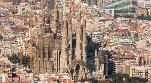 barcelone La Sagrada Familia