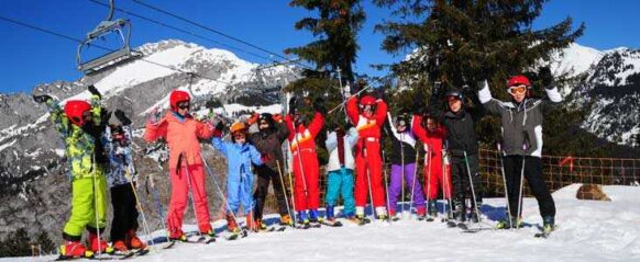colonie de vacances au ski