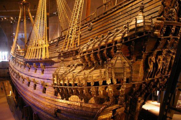 suede Le musée Vasa