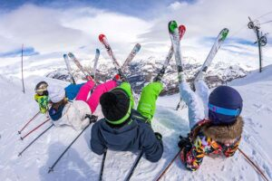weekend ski en famille