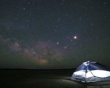 camping en plein air