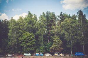 camping car et nature