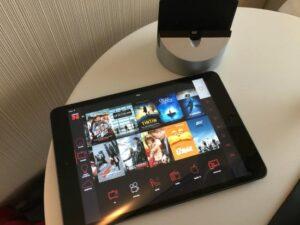 citizenM Paris iPad