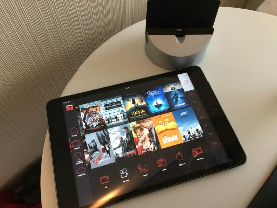 citizenM Paris iPad