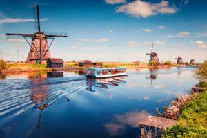 Le Musée de Kinderdijk aux Pays-Bas