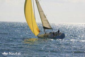 cote de Morbihan sur un voilier