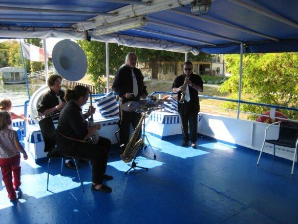 musique sur la seine