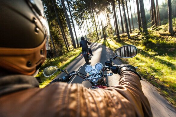 Voyage moto France
