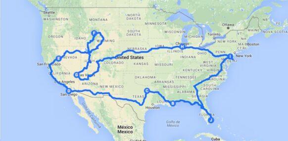 2 mois de road trip aux USA
