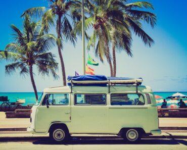 Mini van road trip usa
