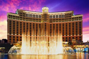 L'hôtel Bellagio - Las Vegas