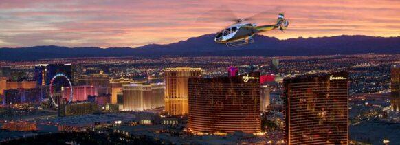 découvrir Las Vegas en hélicoptère