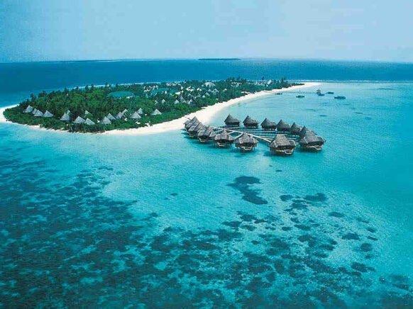 ile hôtel aux Maldives
