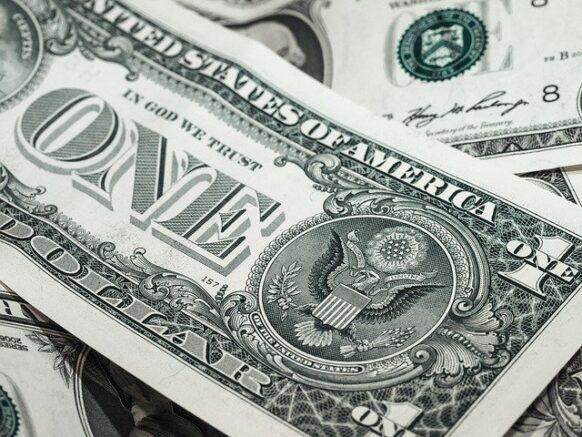 billet argent dollar américain monnaie usd