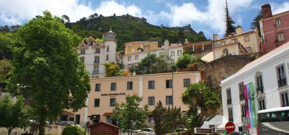 La ville de Sintra au Portugal