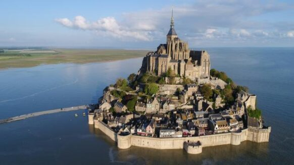 Le Mont Saint-Michel en France