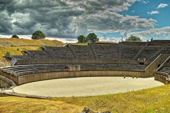 L'amphithéâtre romain en Egypte