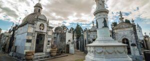 Le cementerio de la Recoleta