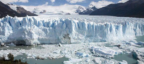 La beauté naturelle du glacier Perito Moreno