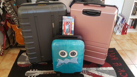 Des bagages personnalisés pour les voyages en famille