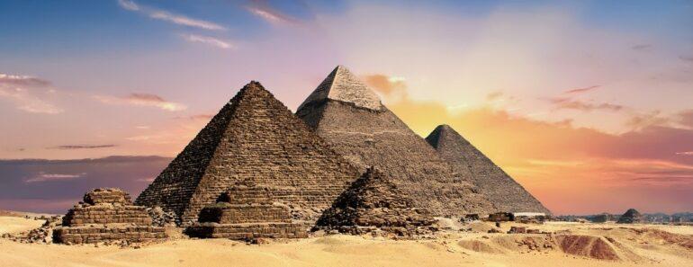 pyramides egypte