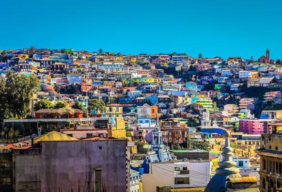 ville de pêcheurs Valparaiso