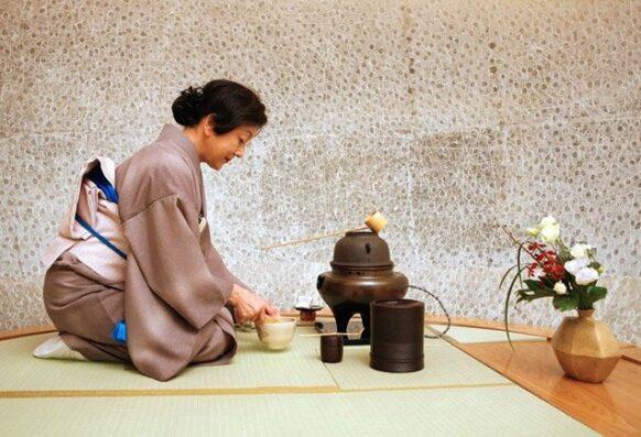 rituel du thé au Japon