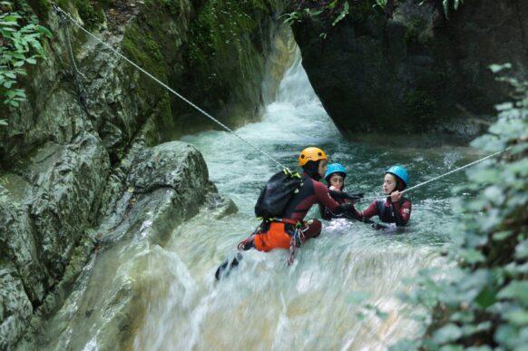 canyoning Ardeche