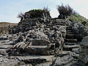 Les rochers sculptés de l'Abbé Fouré