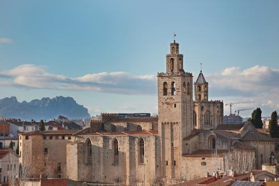 le monastère de Sant Cugart