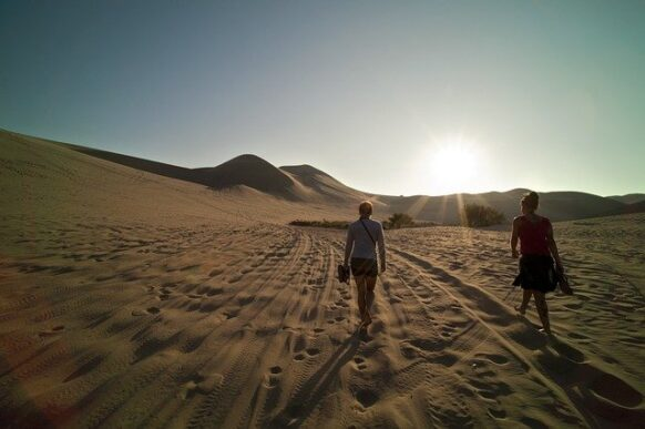Vacances au Maroc : trek desert