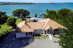 Quai Est à Le François Martinique