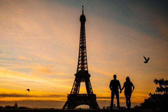 en couple à Paris