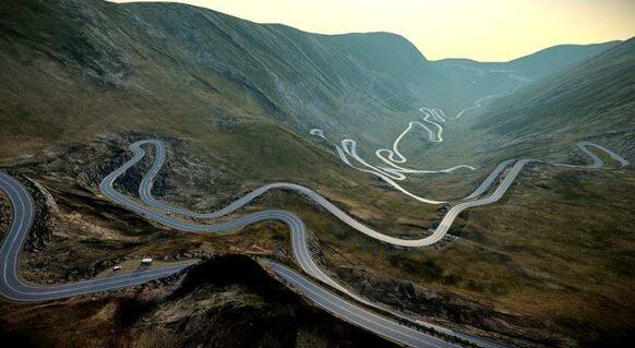 La route Transfagarasan