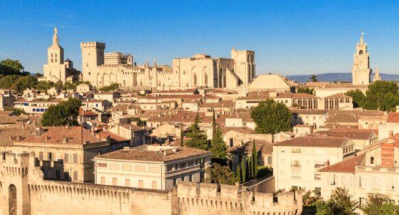 cité médiévale d'Avignon