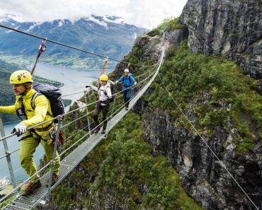 Via Ferrata : un sport vertigineux