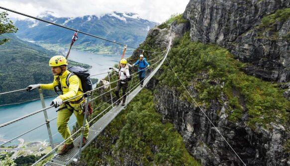 Via Ferrata : un sport vertigineux