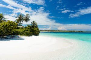 Plage paradisiaque île Maurice