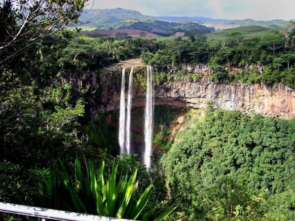 Randonnée au niveau des 7 cascades