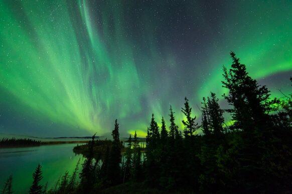 aurores boréales au Canada