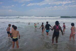 Colonie de vacances en bordure d'océan pour des vacances de rêve